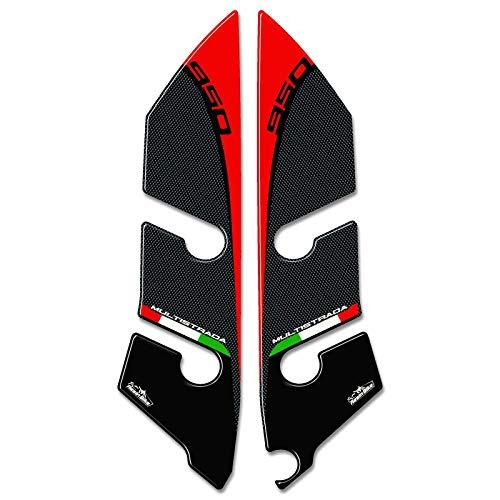 Adhesivos 3D Compatible con Protectores de Horquilla Guardabarros Ducati Multistrada 950