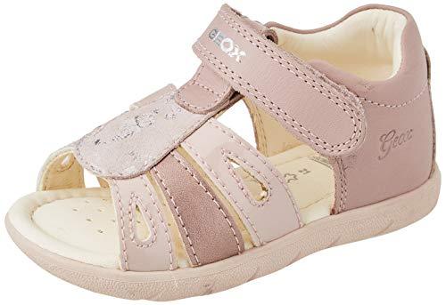 Geox Baby-Mädchen ALUL Girl B Sport Sandal, LT ROSE, 24 EU