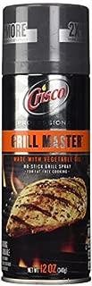 Crisco Professional Oil Spray, Grill Master, 12 Ounce by Crisco