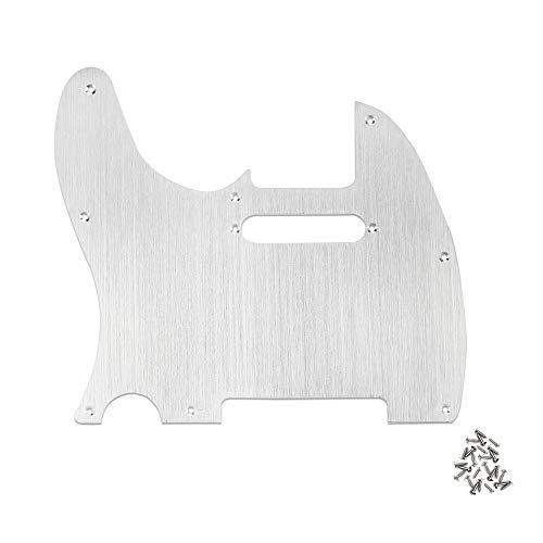 Golpeador para guitarra tele zurdo para guitarras eléctricas Telecaster Aleación de aluminio...