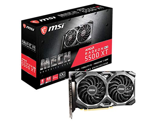 MSI Radeon RX 5500 XT MECH 8G OC Enthusiast Grafikkarte