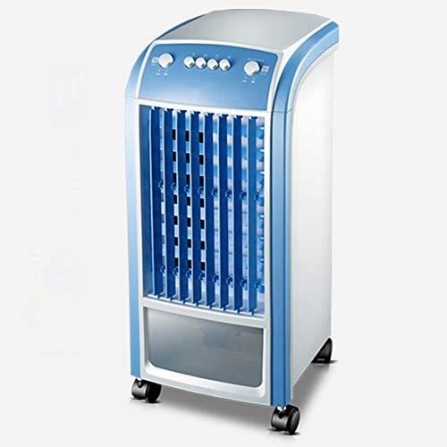 AC-Cooling Refroidissement Unités Mini-ventilateur portable pour climatiseur, 4 roulettes simples et froides Refroidisseurs par évaporation Fonction de refroidissement Refroidisseur d'air Pour la tabl