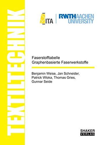Faserstofftabelle Graphenbasierte Faserwerkstoffe / Fibre-Table Graphene-based Fibre Composites (Textiltechnik/ Textile Technology)