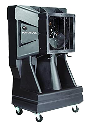 Portacool PAC163SVT 16-Inch Portable Evaporative Cooler with Vertical Tank