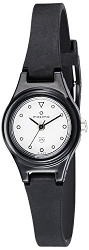Maxima Analog White Dial Women's Watch - 01625PPLW