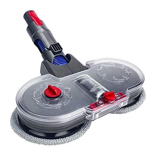 Trocken- und Nass-Wischmopp-Aufsatz für Staubsauger Dyson V7 V8 V10 V11, 1 Wischkopf + 1 Wassertank + 2 Wischtücher