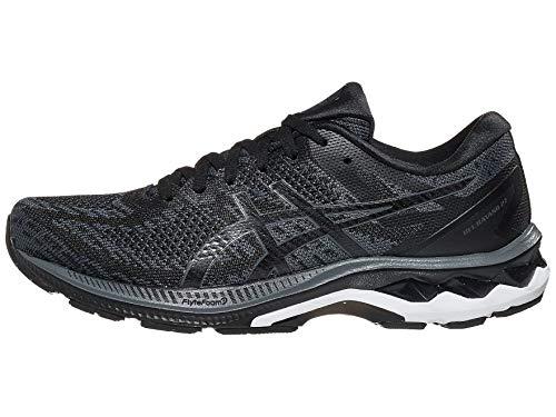 ASICS Men's Gel-Kayano 27 MK Running Shoes, 11, Black/Carrier Grey