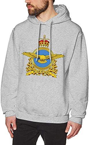 EYSKJ Sudadera con Capucha Royal Canadian Air Force Men's Pullover Hooded Sport Sweatshirt