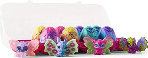 Hatchimals CollEGGtibles, Wilder Exclusive 12-Pack Egg Carton with Mix and Match Wings (Styles Vary) Lot de 12 boîtes à œufs avec Ailes Assorties, 6059068