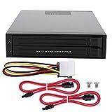 Enclosure per disco rigido del computer, alloggiamento per unità SSD disco rigido SATAI / II / III da 2,5 pollici, supporto per staffa HDD / SSD, custodia per disco rigido SATA senza vassoio interno