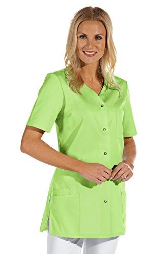 clinicfashion 10112069 Kurzkasack hellgrün für Damen, Mischgewebe, Größe 42