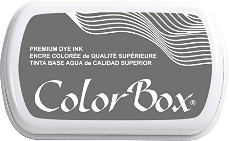 ColorBox Premium Dye Inkpad, Pewter