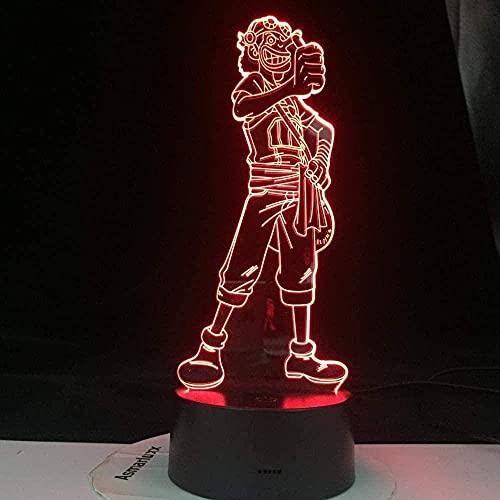 Geizland 3D ilusión luz LED noche luz acrílico mujeres voleibol para decoración de oficina adulto deporte sensor táctil remoto lámpara de escritorio regalo cumpleaños regalos vacaciones regalos