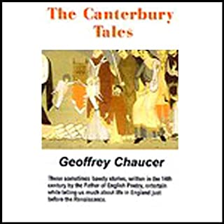 The Canterbury Tales (Unabridged Selections) audiobook cover art