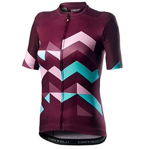 castelli Unlimited W T-Shirt Femme, Sangria, XS