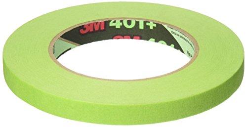 Scotch High Performance Masking Tape, 0.50 Inch x 60 Yards, Green