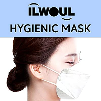 ILWOUL Hygienic Mask_Quadruple Filter Structure_Made in Korea_30 Individual Packs