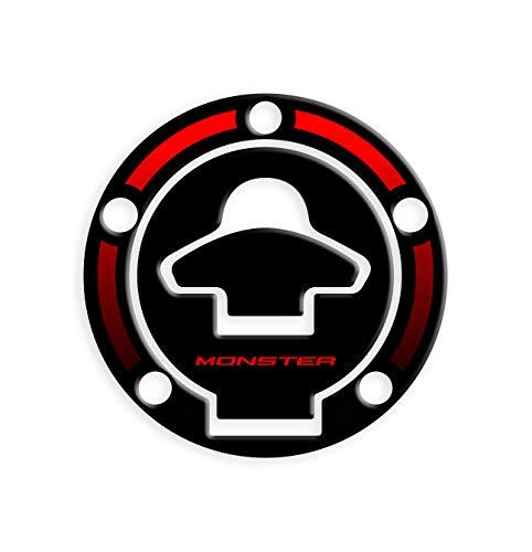 PROTEZIONE TAPPO BENZINA DUCATI MONSTER GP-323(M) (Red)