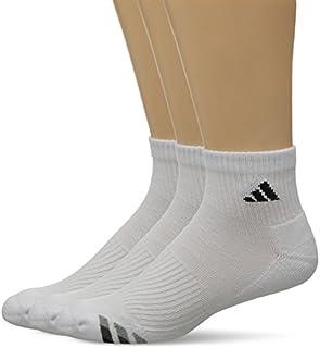 adidas Men's Cushioned Quarter Compression Socks (3-Pack)