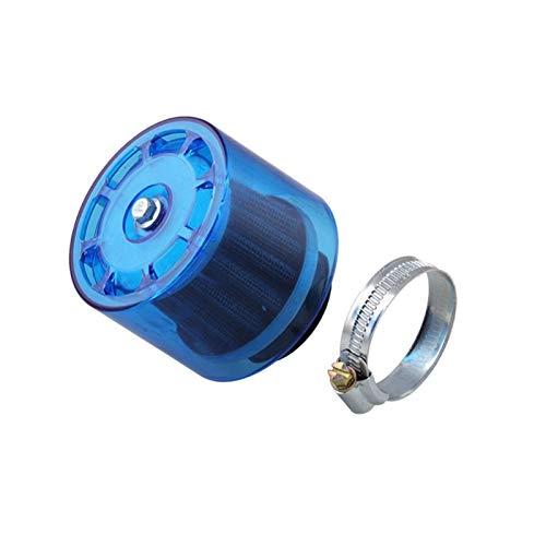 MAMINGGANG MmGang®. Blaue 35mm Motorrad Motorrad Luftfilterreiniger 50cc 110cc 125cc ATV Pit Dirt Bike Splash Proof (Color : Blue)