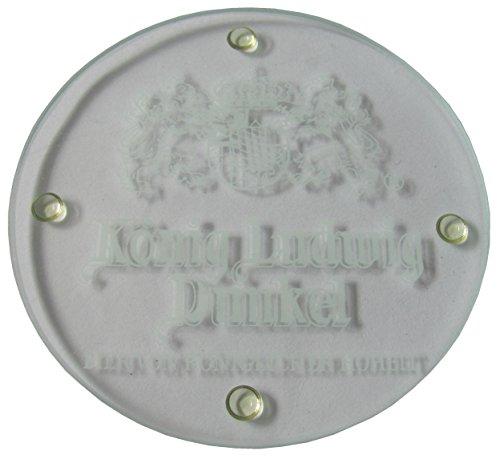 Kaltenberg Brauerei - König Ludwig Dunkel - 4 Glasuntersetzer - 9 cm
