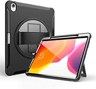 Jamie Case for Appe IPad Pro 12.9 Inch 2018 2020 Tablet Child Safety Heavy Duty Shockproof Kickstand Wristband Pen Slot Co...