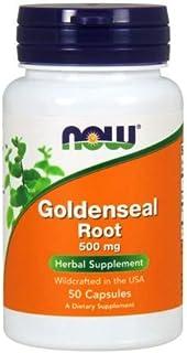 Now Foods Goldenseal Root, 50 Caps 500 mg