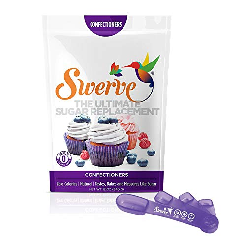 Swerve Confectioners Sweetener (12 oz with Measuring Spoons)