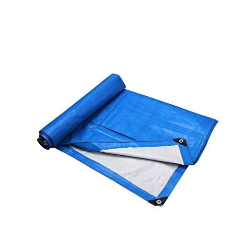 Sencillo Tela Impermeable a Prueba de Viento de la Lona Que Espesa la Lona al Aire Libre de la Lona de Espesamiento portátil (Color : 3.8M*7.8M)