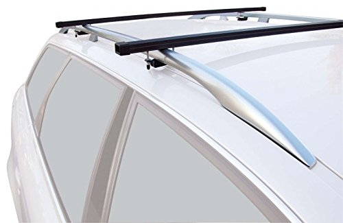 3//5 Doors from 03//2004 Aluminium from 09//2002 VW Caddy III+IV 3//5 Doors Green Valley Aurilis Original roof Racks for Ford Connect