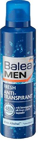 Balea MEN Deo Spray Antitranspirant fresh, 200 ml