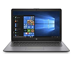 commercial HP Stream Notebook 14 inch touch screen, AMD A4-9120E dual core processor, 4 GB SDRAM, 64 GB eMMC,… hp 14 ab166us