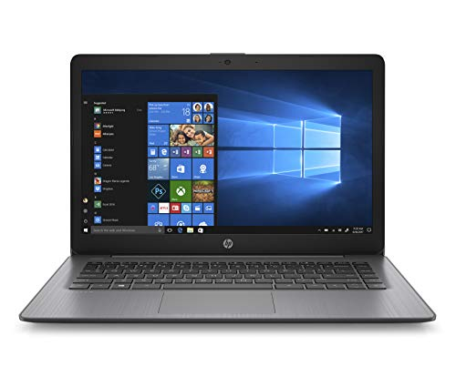 HP Stream 14-ds0205ng (14 Zoll / HD) Laptop (AMD A4-9120e, 4GB DDR4 RAM , 64GB eMMC, AMD Radeon R2, Windows 10 Home inkl. Microsoft Office 365 Personal) schwarz