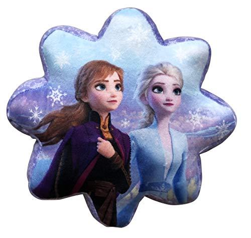 LYO Disney - Cojín de Estrella Frozen 2 (20 cm), Color Negro