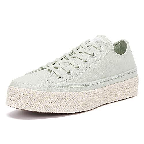 Converse All Star Espadrille Frauen Hellgrüne Sneakers-UK 8 / EU 41.5