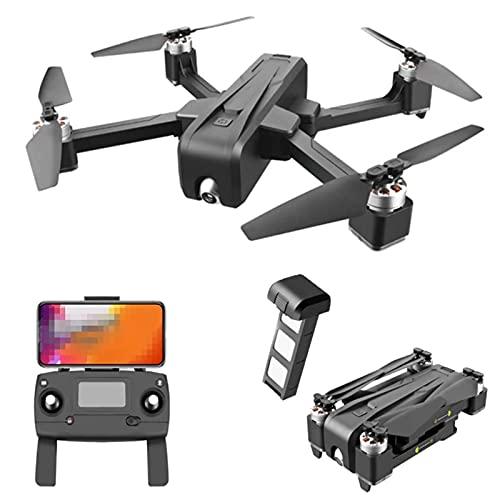 JJDSN Trasmissione Quadcopter 5G FPV, Drone con Telecamera HD 4K, Drone con 35 Minuti di Volo, Motore brushless con True 2D ESC PTZ