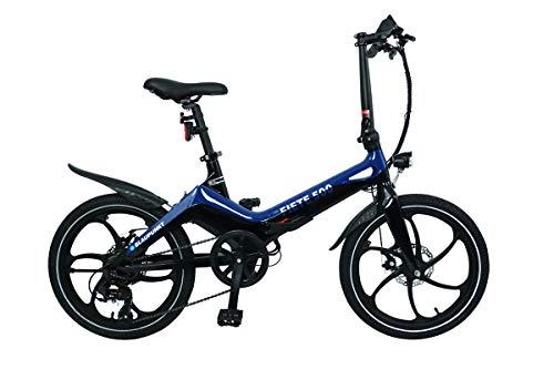 Blaupunkt FIETE 500 | Falt-E-Bike, Designbike, Klapprad, StVZO, 20 Zoll, leicht, Klapprad, Faltrad, e-bike, kompakt, E-Falt Bike