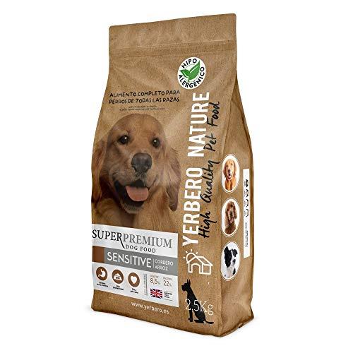 YERBERO Nature Sensitive, lam, hypoallergeen hondenvoer 2,5 kg