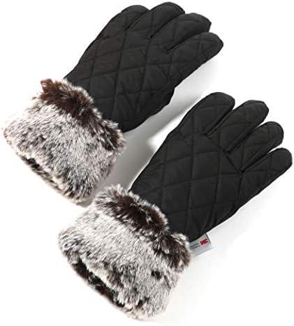 accsa Women Winter Ski Glove Waterproof 3M Thinsulate Warm Windproof Brown M product image