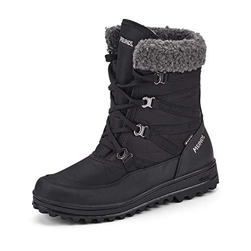 Meindl Livigno Lady Gtx Laarzen Dames Zwart - 39 - Snowboots Shoes