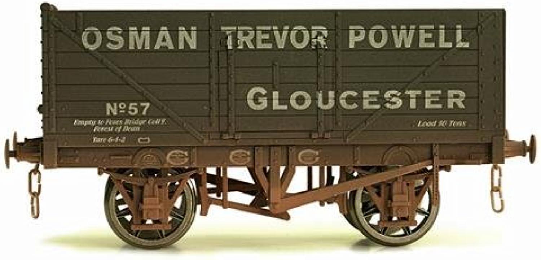 Dapol 7F071021W 7 Plank Wagon Osman Trevor Powell 57 Weathered