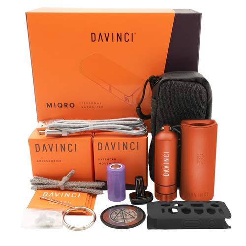 DAVINCI MIQRO Explorers Collection - Rost - Premium Portable Vaporizer - Dry Herb - 5 Jahre Garantie