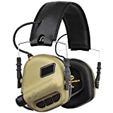OPSMEN M31 Electronic Shooting Noise Safety Ear Earmuff Sport Sound Amplification Protection Desert