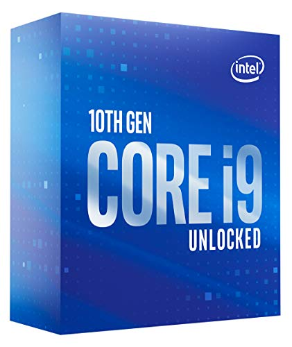 Intel Core i9-10850K Desktop Processor 10 Cores up to 5.2 GHz Unlocked LGA1200 (Intel 400 Series chipset) 125W