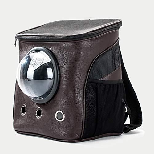 Haustier Rucksack Raumkapsel Pet Bag Out Mini Cat großes Lager Hundetasche Schulter-Test-Hunderucksack Teddy Kaninchen Hundetasche (mehrfache Farben) (Color : C)