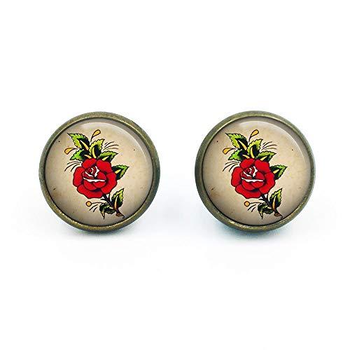 Butterfly N Beez Sailor Jerry Earrings| Pendientes náuticos| Rockabilly Earrings| Sailor Jerry| Tatuaje Retro| Pendientes Pinup| Regalo para Ella| Regalo para Mujer | 14