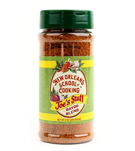 Joe's Stuff Bayou Blend Seasoning From New Orleans (9 Ounce)
