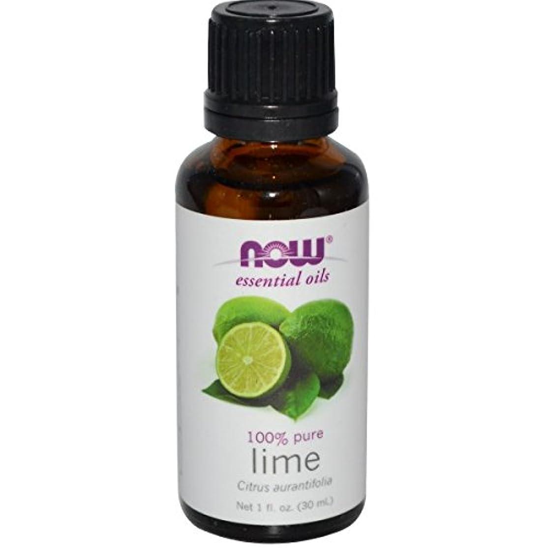 有彩色のワゴン助けて海外直送品Lime Oil, 1 OZ by Now Foods