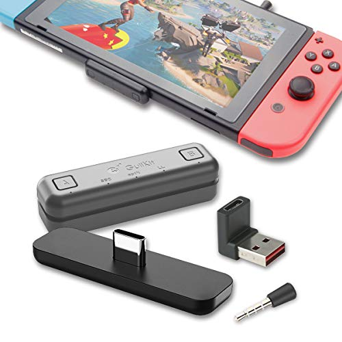 対応Nintendo Switch / Switch Lite PS4 PC用 GuliKit Route Air Pro Bluetooth アダプター