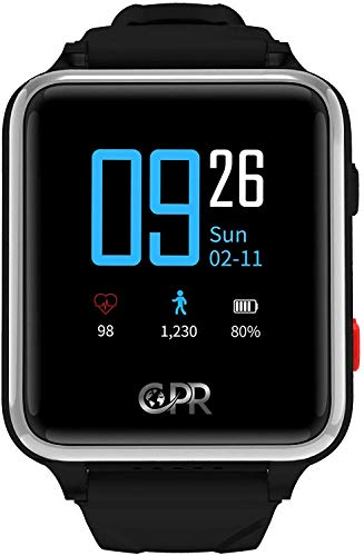 CPR Guardian II Smartwatch for Parents and Loved Ones - The Next Generation of Protection in an Emergency. Keeping The Wearer Active, Independent and Secure at All Times